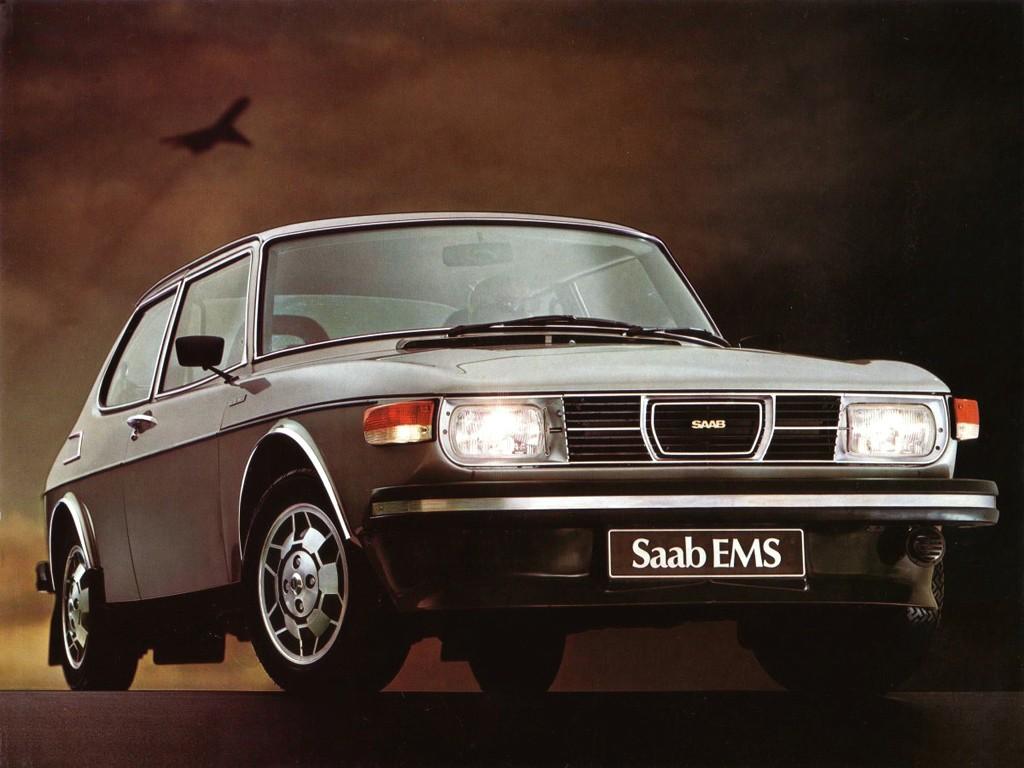 La Saab 99 EMS (Electronic Manual Special)