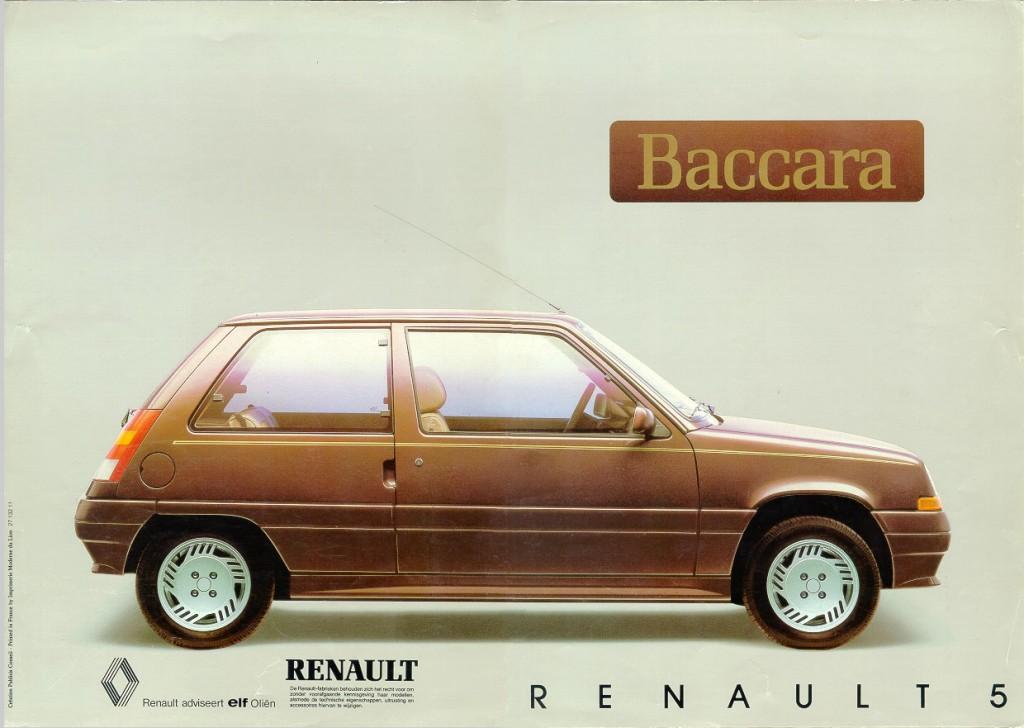 Renault Clio 1 Baccara : « pas assez chère mon fils » !