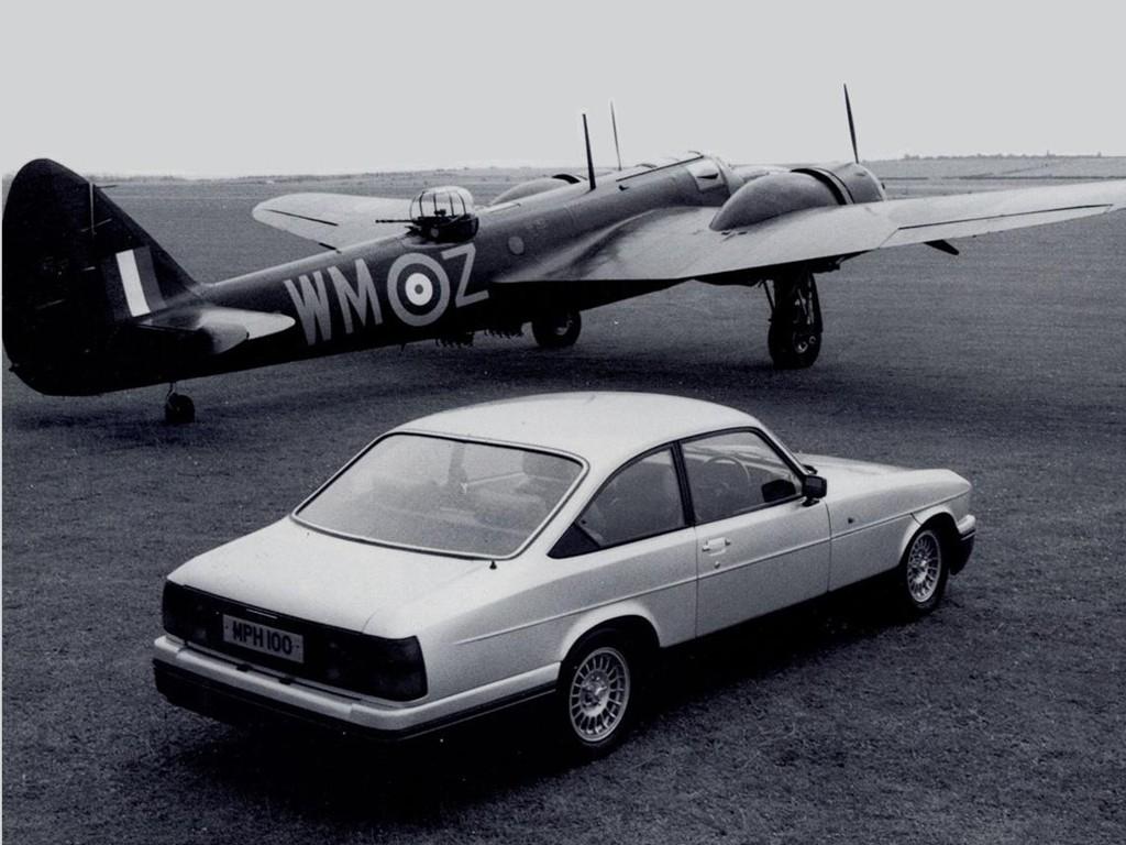 La Blenheim reprend le nom d'un célèbre bombardier construit par Bristol avant et pendant la Seconde guerre mondiale !