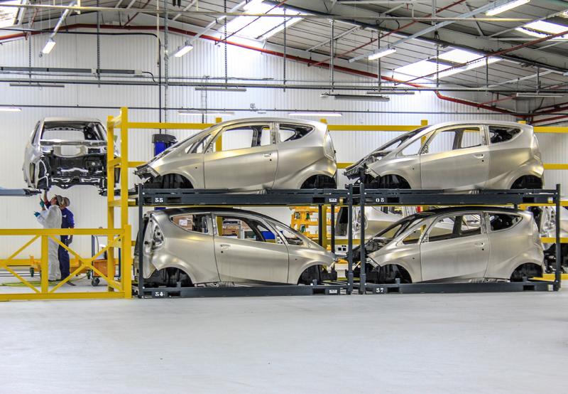 Si à Dieppe on assemblera bientôt à nouveau des Alpines, on construit aussi des Bolloré Bluecar: drôle d'alliance !