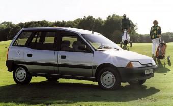 Citroën AX Van Evasion : minispace avant l'heure !