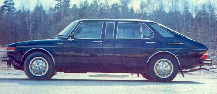Saab 99 Finlandia, version limousine hyper rare (23 exemplaires)