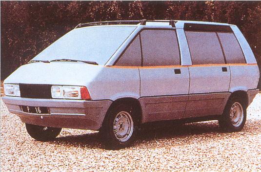 Le Matra P16, très proche du concept Supervan de Rootes !
