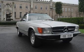 La Mercedes SL350 de Ceaucescu est à vendre !