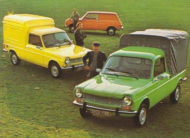 La Gamme VF2 de Simca en 1977, fabriquée par Heuliez !