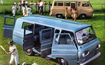 Ford Falcon Econoline E-Series: le premier d'une longue lignée