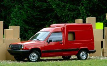 Renault Express : Super Cinq en bleu de travail !