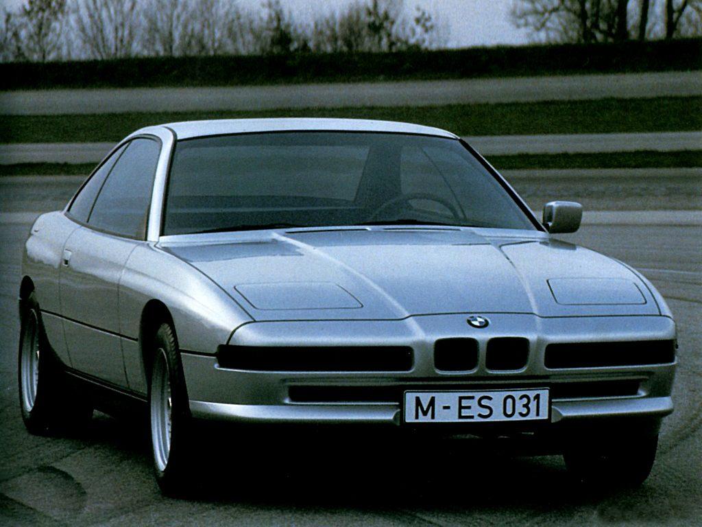 Prototype de l'E31, datant de 1987 !
