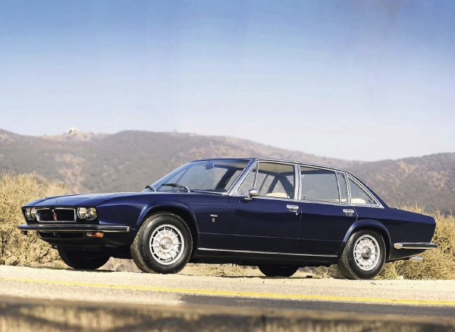 Le prototype AM121 dessiné par Frua restera sans suite !