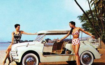 Renault 4CV Jolly: voiture de plage à l'italienne