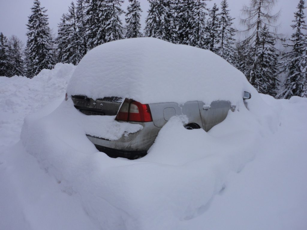 Les suédoises, comme ce XC70, sont habituées à la neige !