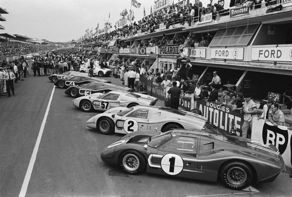 Les GT40 gagneront aussi en 1967 (image), 1968 et 1969