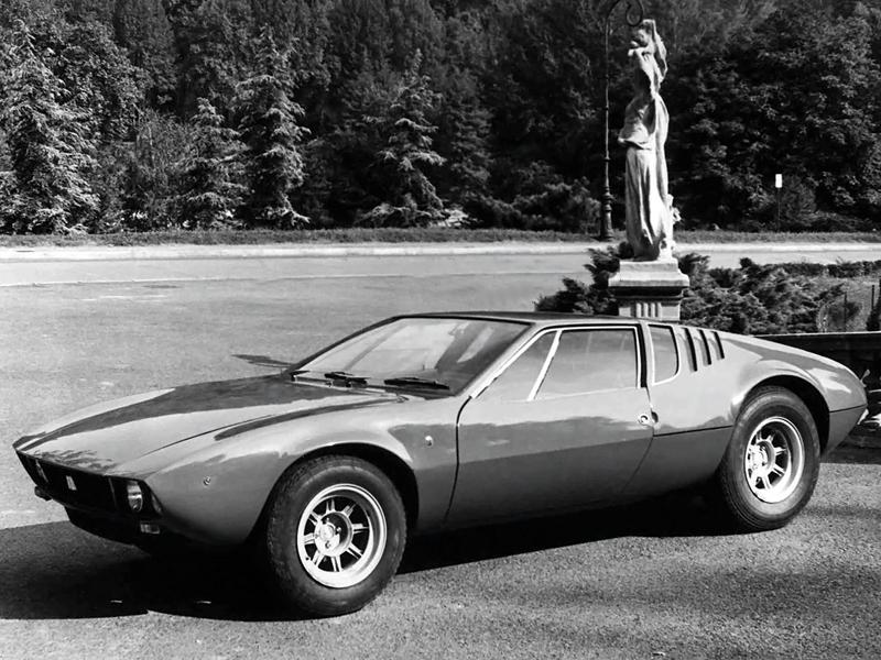 La Mangusta, première De Tomaso motorisée par un V8 Ford !