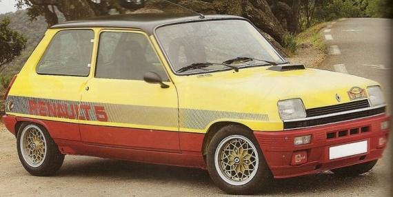 La Renault 5 Monte Carlo, série spéciale produite à 2400 exemplaires et fêtant les 2ème et 3ème places au Rallye de Monte Carlo 1978 !