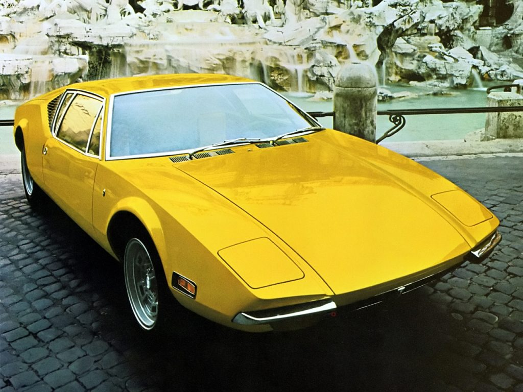 La De Tomaso Pantera, à moteur V8 Ford, en 1971 !