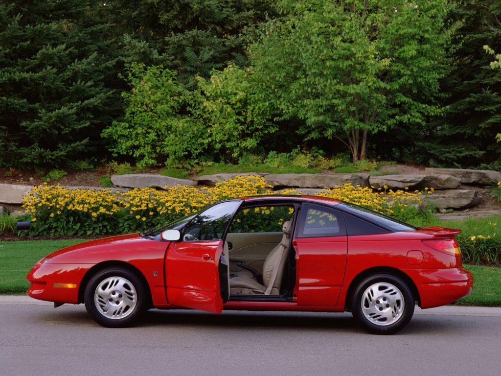 Les portes du coupé SC inspireront sans doute Mazda pour son RX8