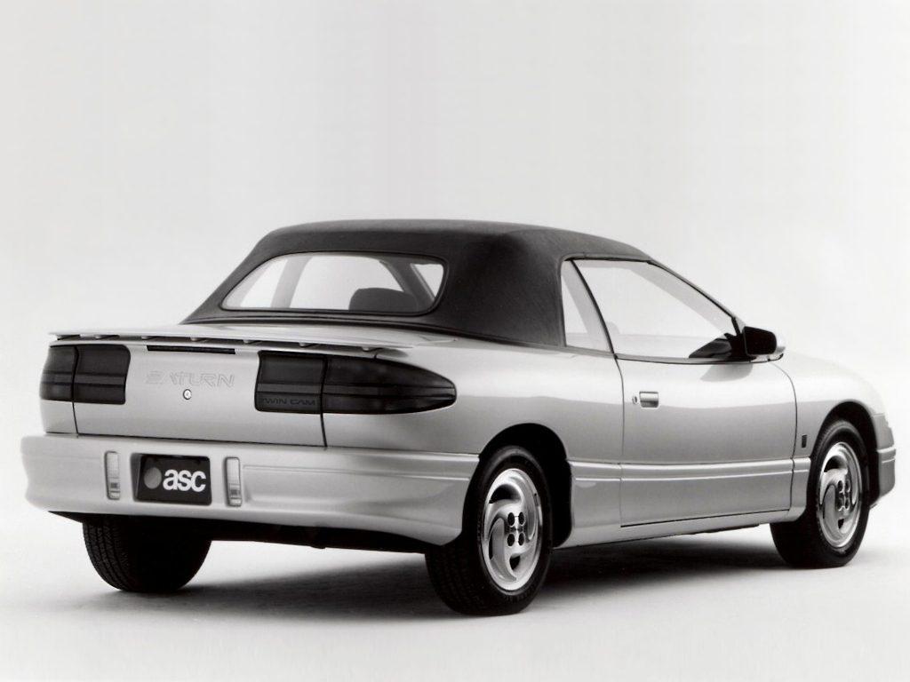 Le projet d'ASC pour une version cabriolet de la SC ne fut pas retenu. Dommage !