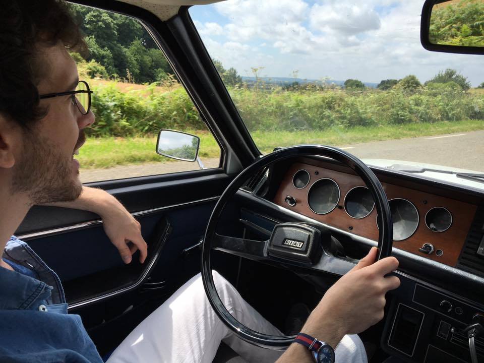 Adrien et sa Fiat 132 LMC 2016