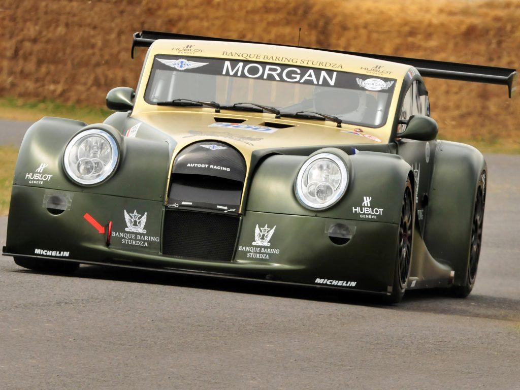 L'Aero GT3, qui courera de 2002 à 2009 au Mans !
