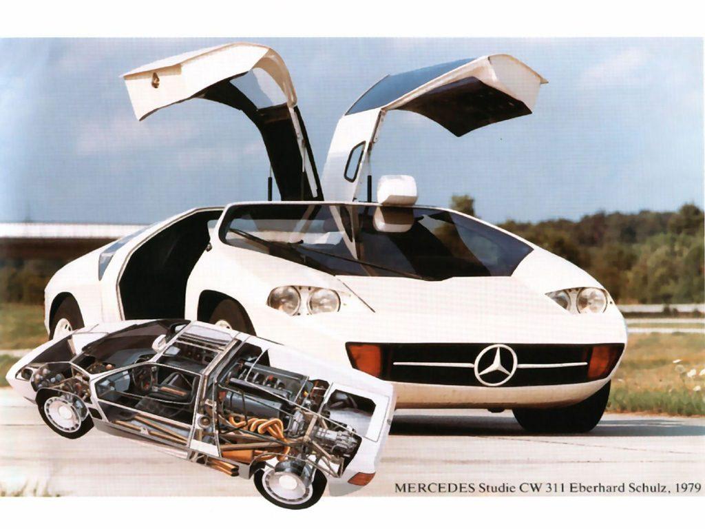 Le projet CW311 de Mercedes mené par Eberhard Schulz !