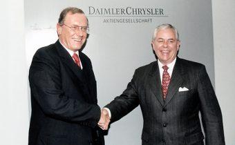 """DaimlerChrysler: le mariage """"raté"""" du siècle !"""