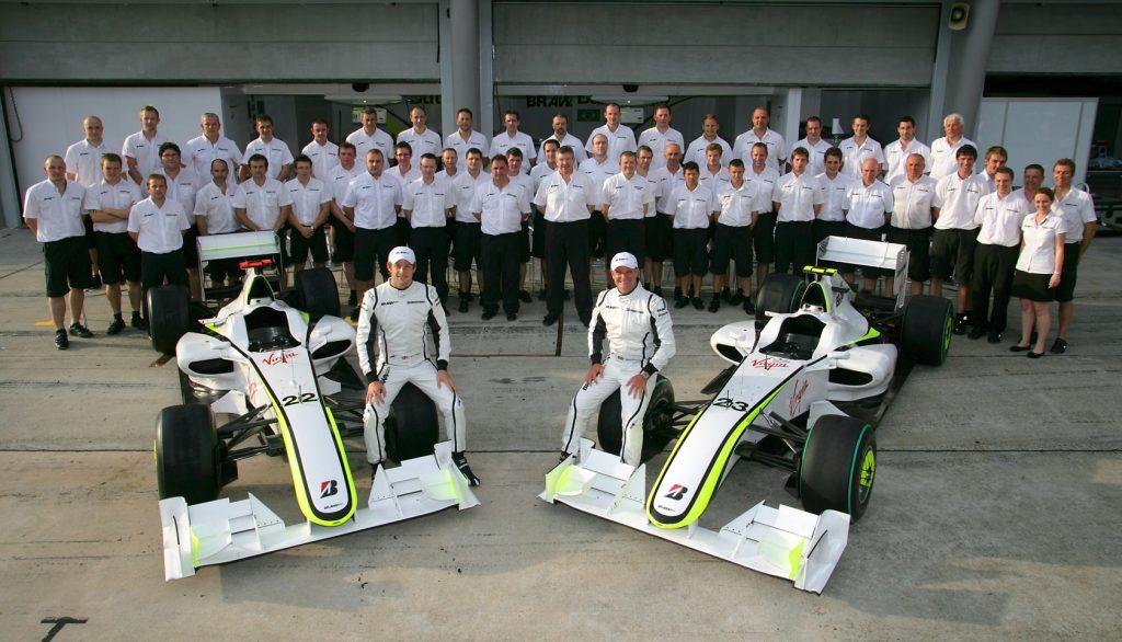 A la surprise générale, Ross Brawn créé Brawn GP sur les cendres de Honda et Super Aguri