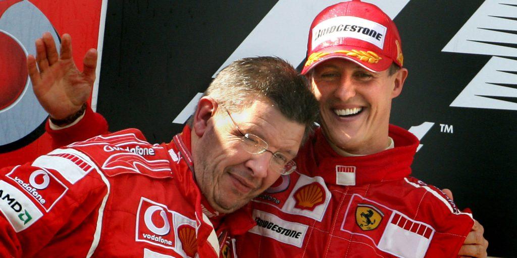 Ross Brawn dans sa période Ferrari
