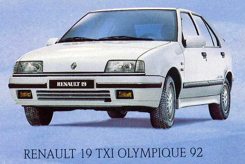 19 Olympique 92 01