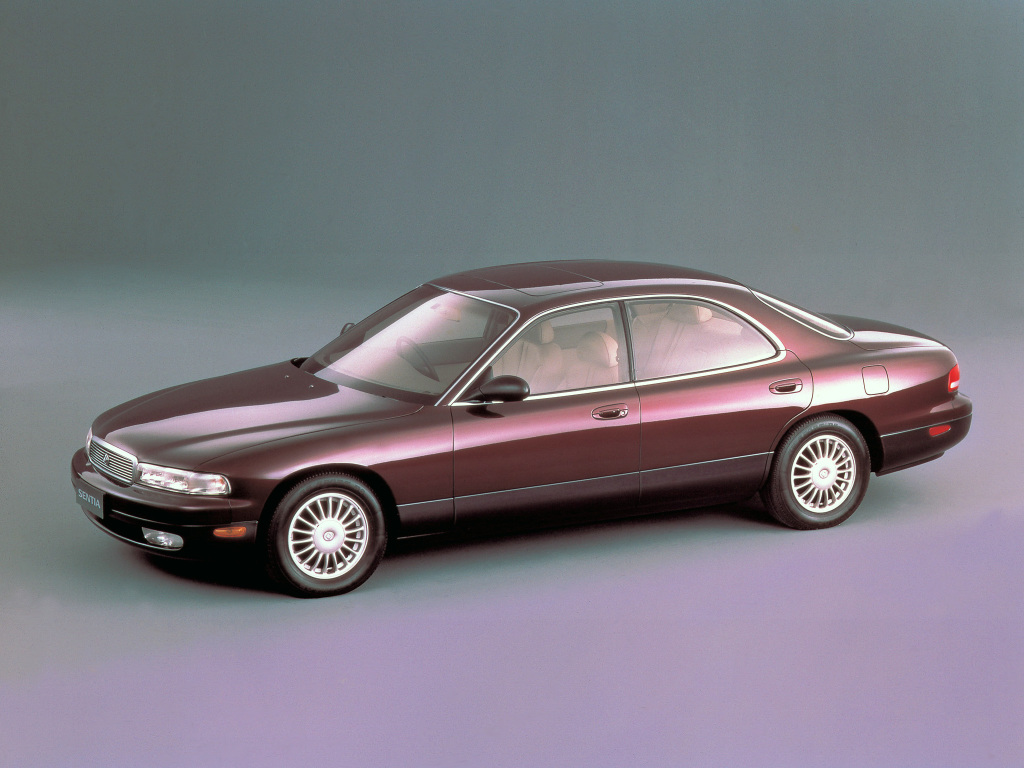 La Mazda Sentia devait s'appeler Amati 1000, et disposer d'une calandre plus statutaire et d'un W12 !