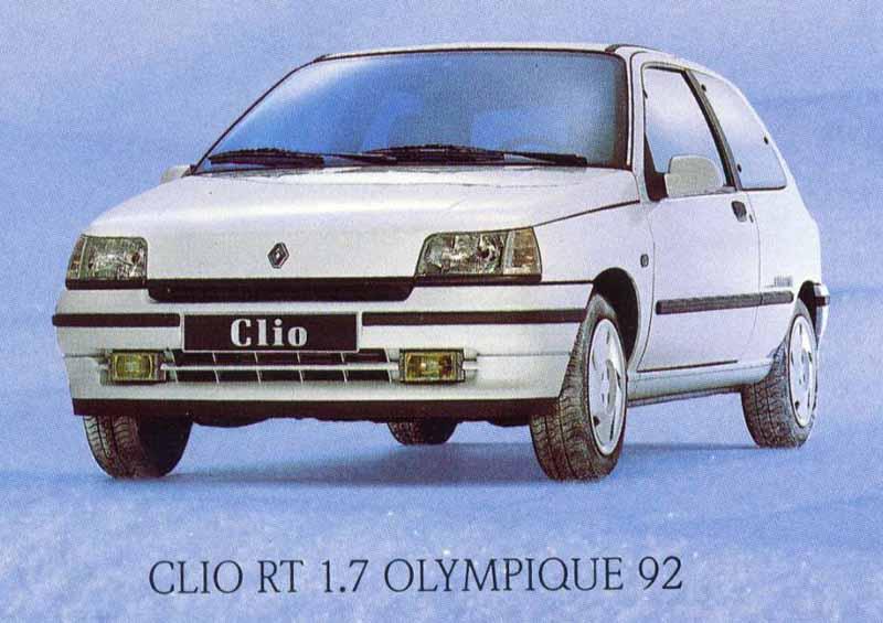 Clio Olympique 92 01