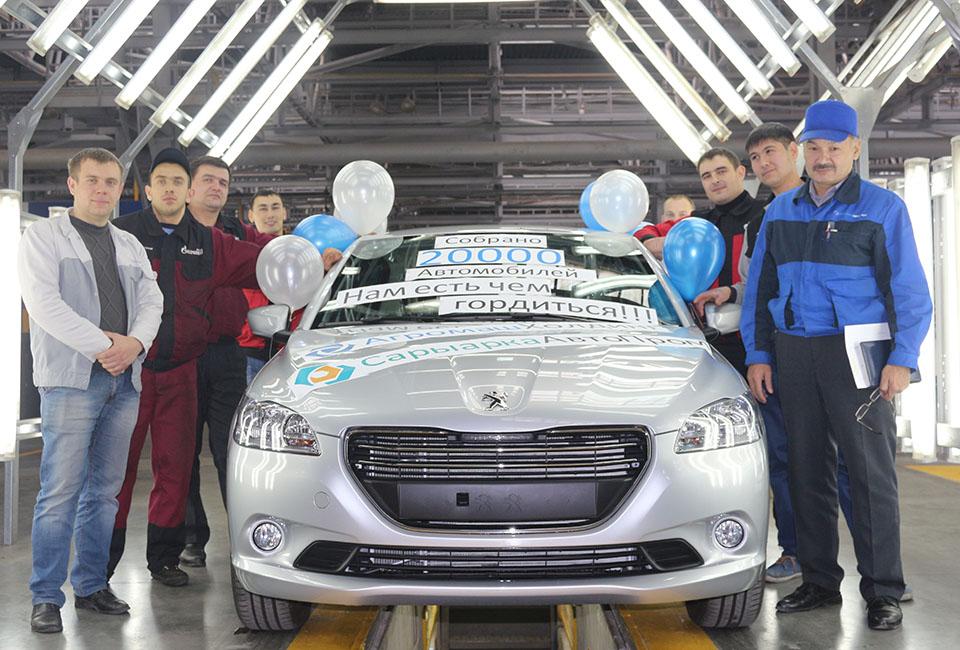La 20 000ème Peugeot 301 sort des chaînes fin 2015