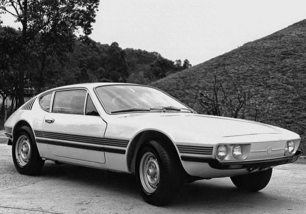 En 1972, VW do Brasil lance les SP1 et SP2