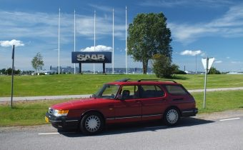 Saab 900 Safari : le break inconnu