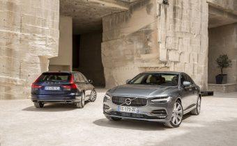 Volvo S90 et V90 : ça roule tout seul pour Volvo