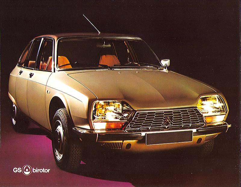 La GS Birotor, comme la M35, est un gouffre financier pour Citroën
