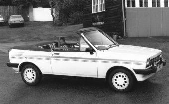 Crayford Fiesta Fly : la petite Ford en version cabriolet