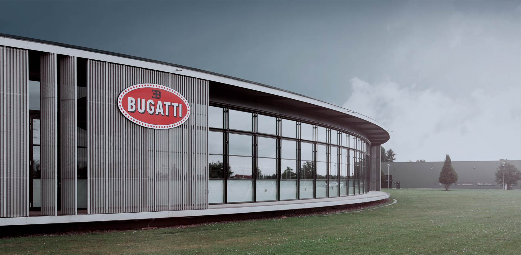 La nouvelle usine Bugatti à Molsheim