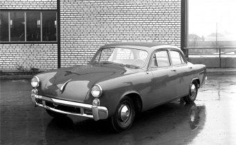 Studebaker Typ 542 : la berline Porsche refusée par DeLorean