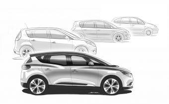 Renault Scénic IV : double héritage