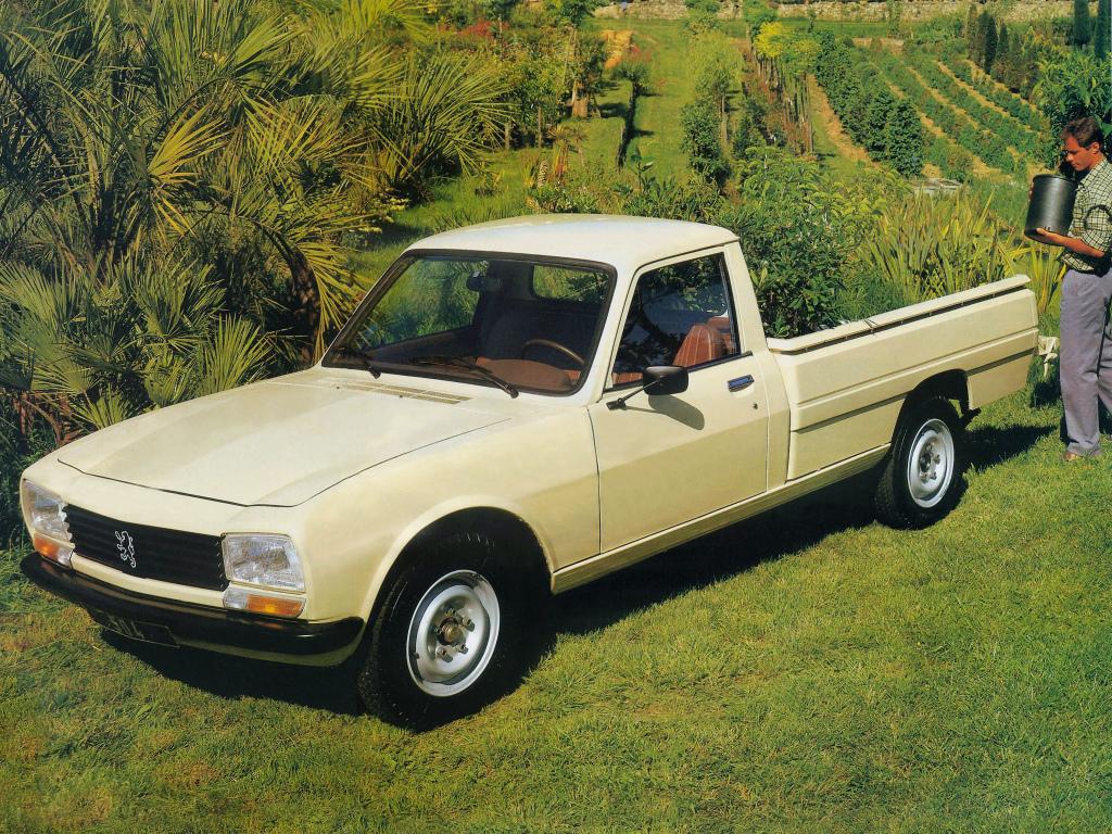 La version pick up sera vendue jusqu'en 1996 en France