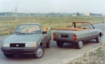 Oltcit Club Cabriolet : roumaine découvrable