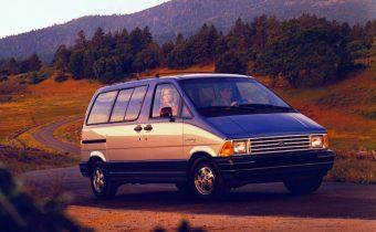 Ford Aerostar : l'Espace version yankee