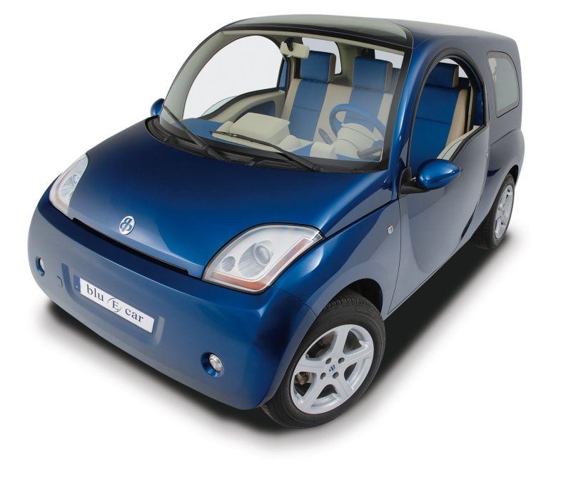 La Bluecar telle qu'elle fut présentée en 2005, sous la houlette de Philippe Guédon