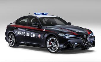 """Alfa Romeo Giulia Quadrifoglio """"Carabinieri"""" : un beau coup de pub"""