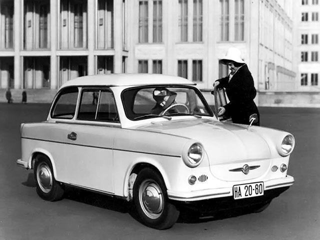La P50, parue en 1958, est la première Trabant