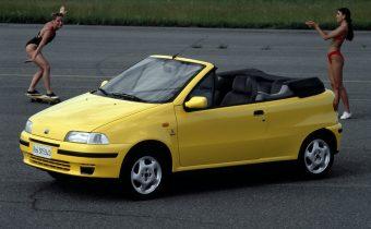 Fiat Punto Cabriolet : le grand air pour des clopinettes