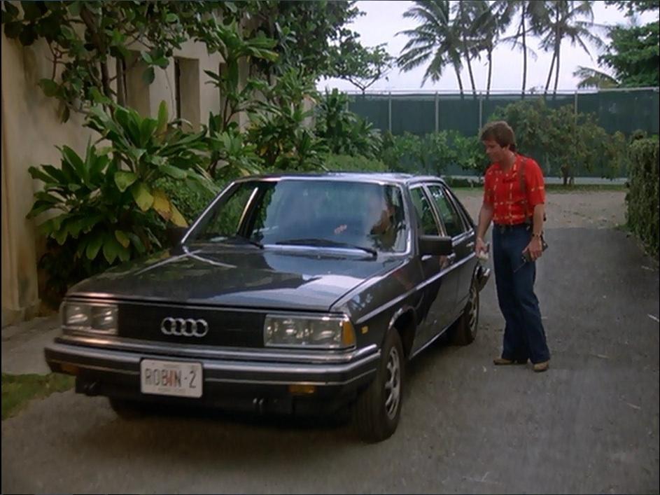 L'Audi 5000 apparaît en 1982 dans la série Magnum PI