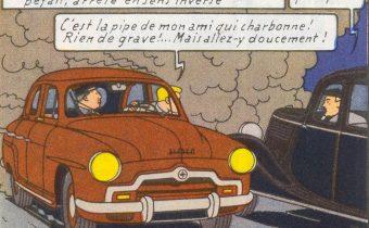 Jacques Martin, Lefranc, et l'amour de l'automobile