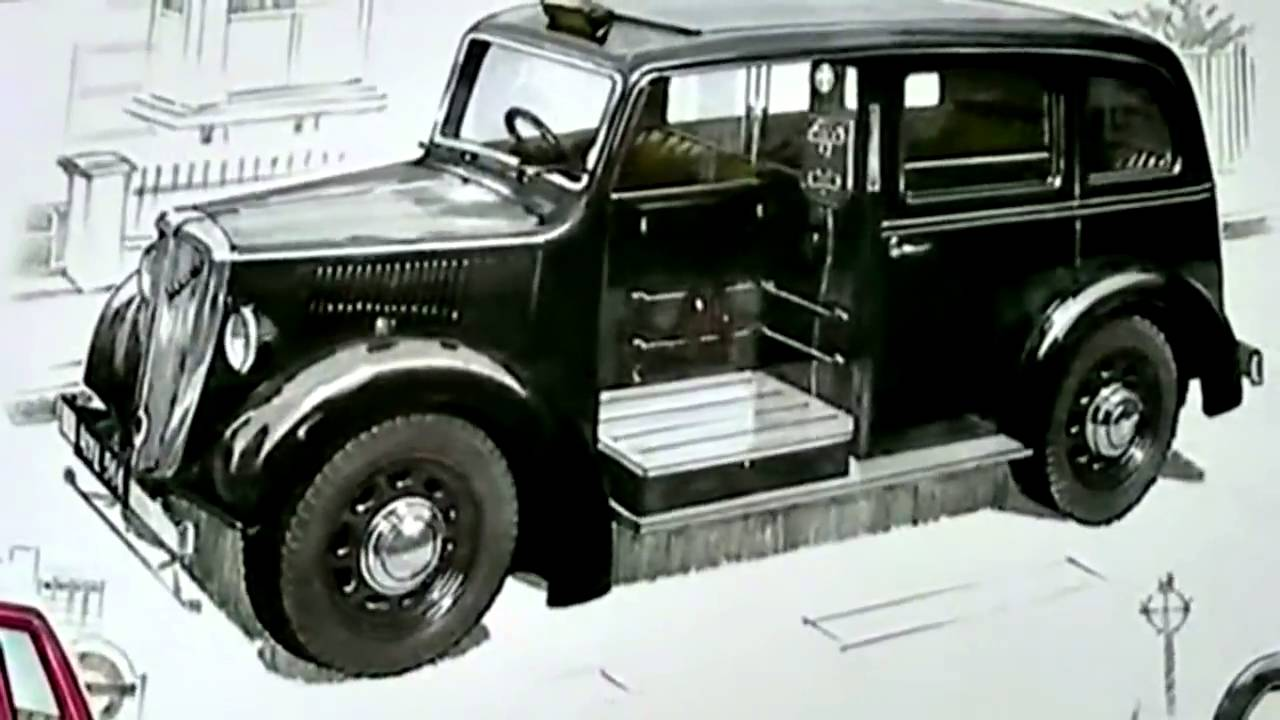 Le taxi Beardmore, aux origines de Metrocab