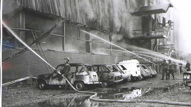 En 1974, un incendie (volontaire semble-t-il) fera 10 morts à Valladolid